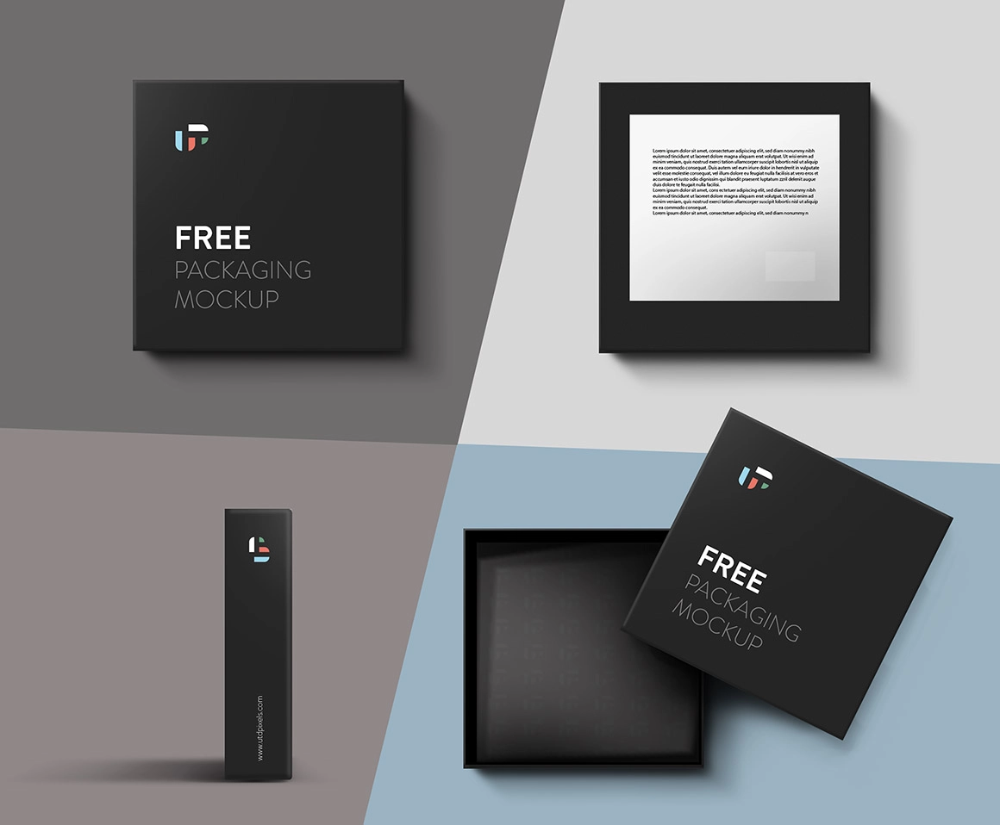 Download Free Square Box Mockup Dealjumbo Com Discounted Design Bundles With Extended License Free Packaging Mockup Box Mockup Photoshop Mockup Free