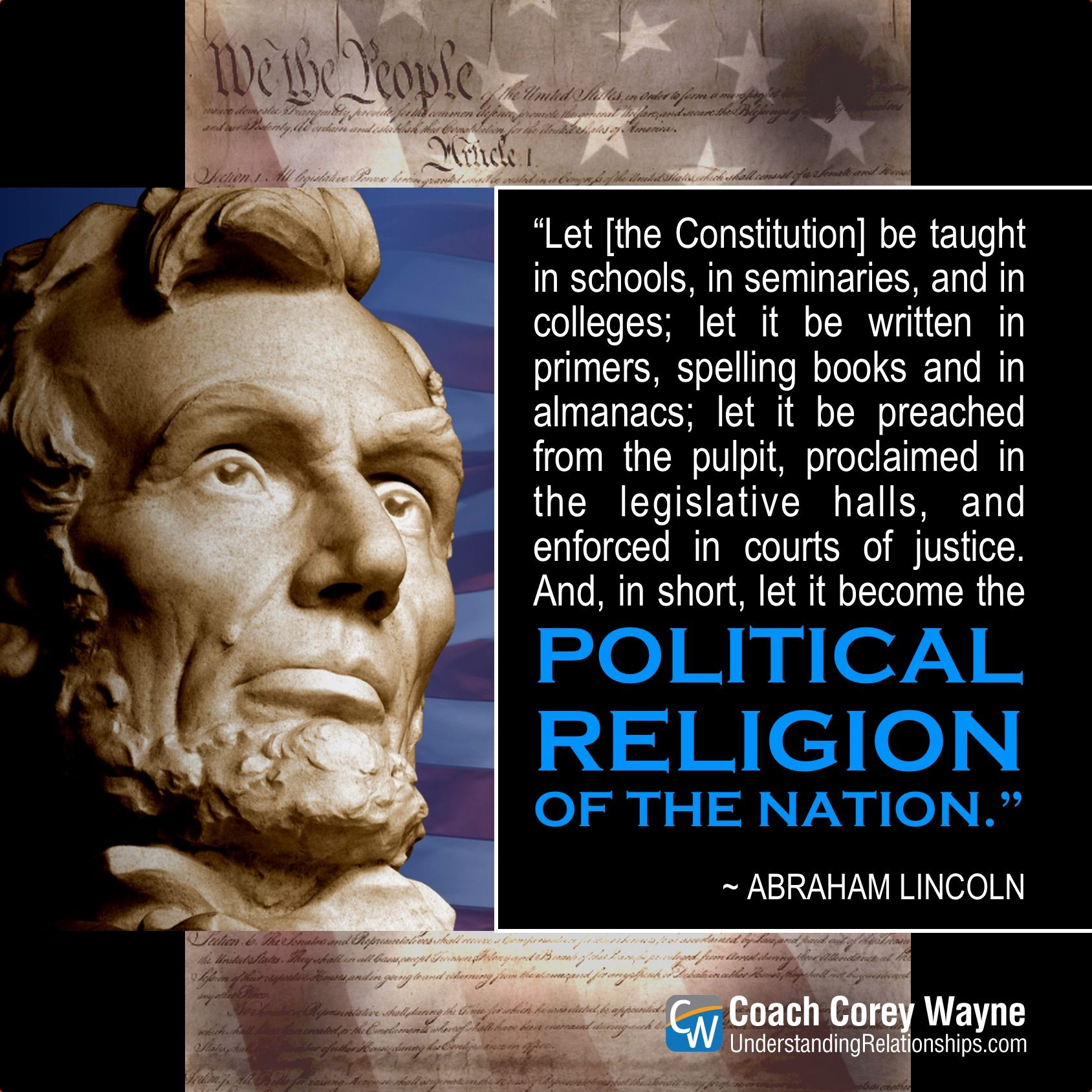 Radical Patriot Quoted By President >> Abrahamlincoln Constitution Patriot America Unitedstates