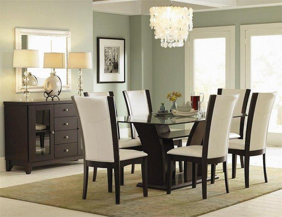 Glas Esszimmer Tisch Und Stühle #Esszimmerstühle