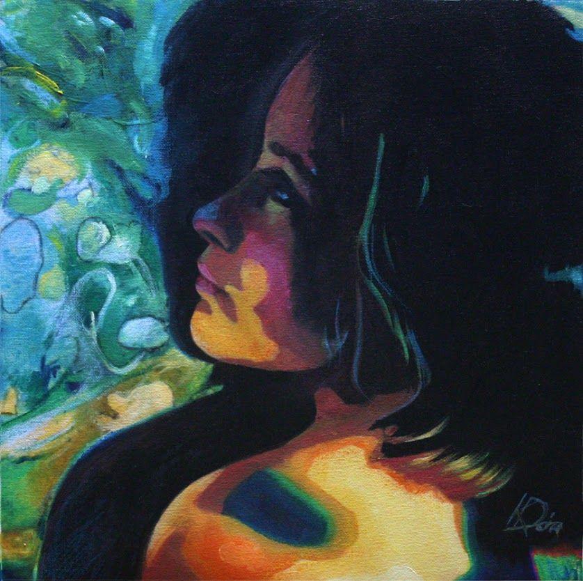Dorci -  Vászon, akril / Canvas, acrylic; Artist: Kecskeméti Dóra