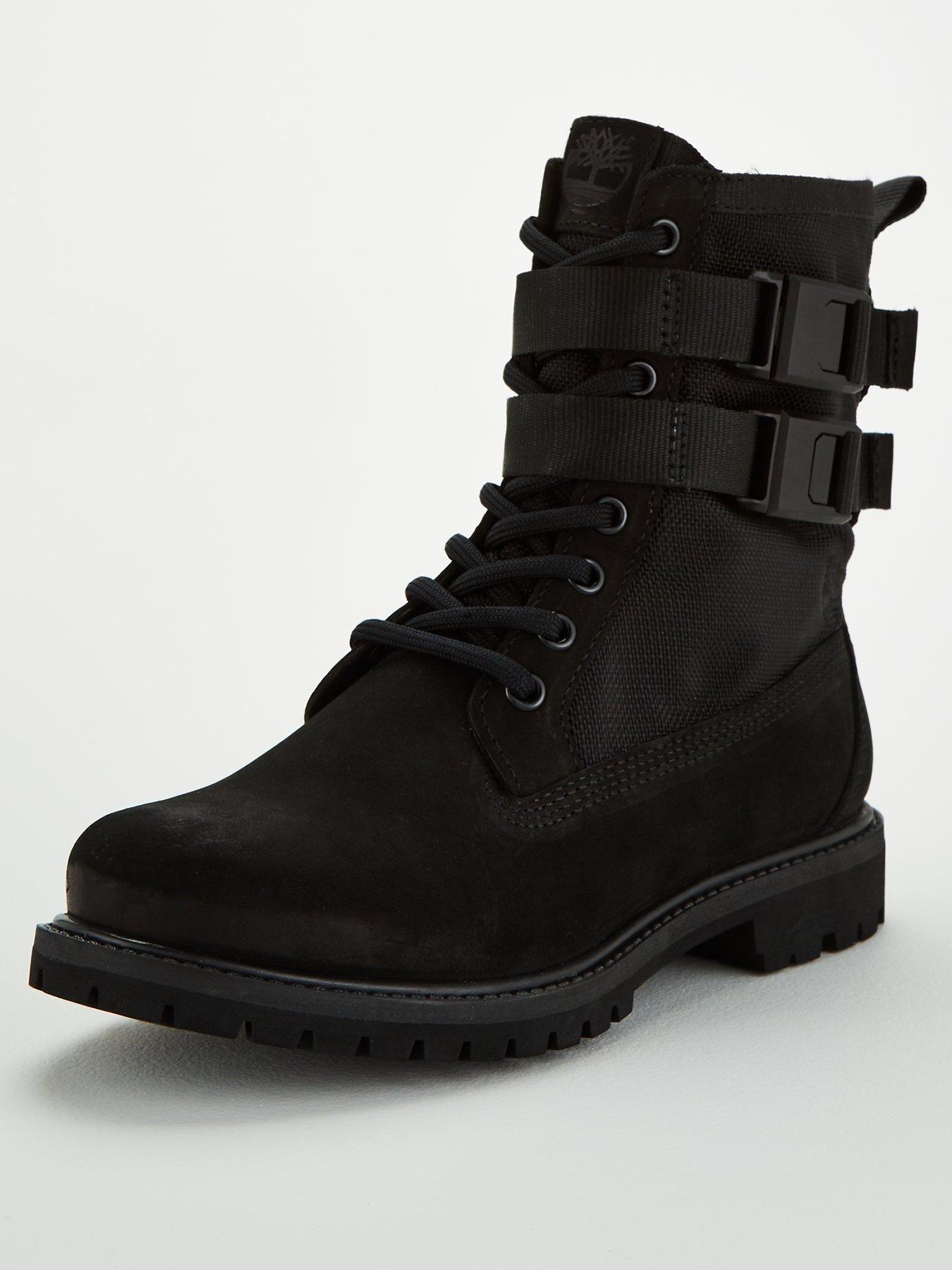 Authentics Buckle Calf Boots Black Kalvesko, svart  Calf boots, Black