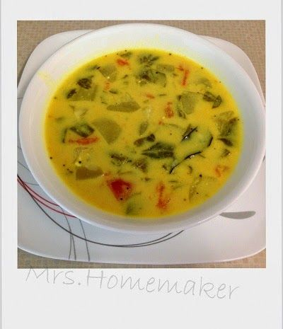 Mrs Homemaker Buttermilk Stew Dahi Kadhi Majjiga Pulusu Khadi Recipe Perfect Side Dish Stew