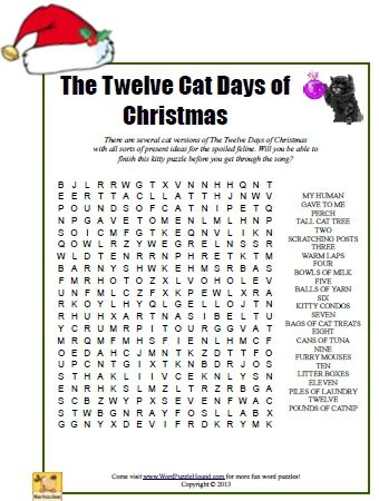 picture about Words to 12 Days of Christmas Printable identified as Pin upon phrase glance