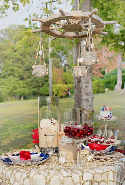 motivos naúticos y navales para decorar en tu boda | ideas