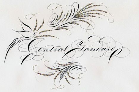 Spencerian Script Writing Envy Calligraphy