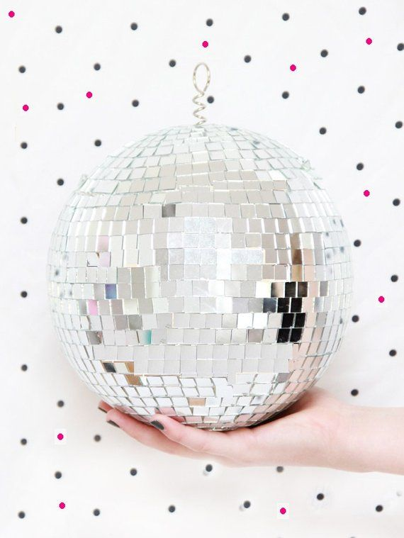 Sale hanging disco ball mirror mosaic mirrored party decoration club retro vintage style  dance  also pop the bubbly  it  new year eve in boho decor rh pinterest