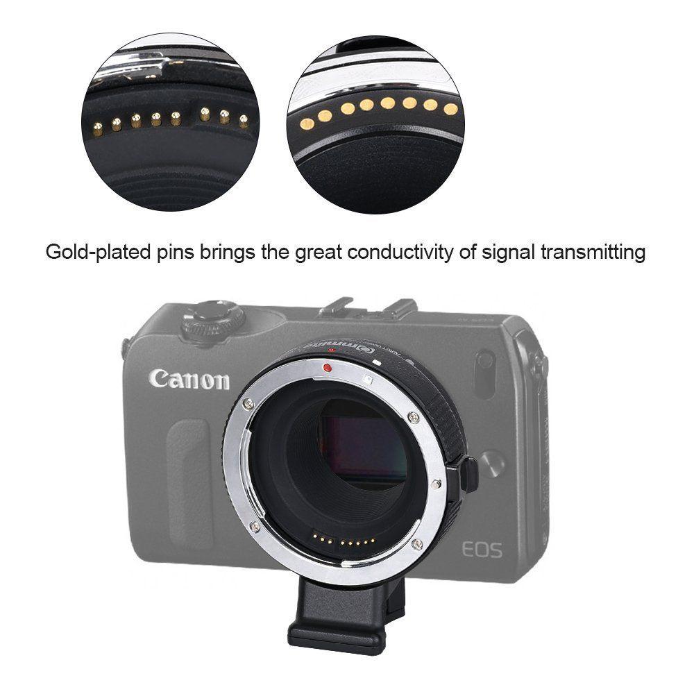 Commlite CM-EF-EOS M Electronic Auto-Focus Lens Mount
