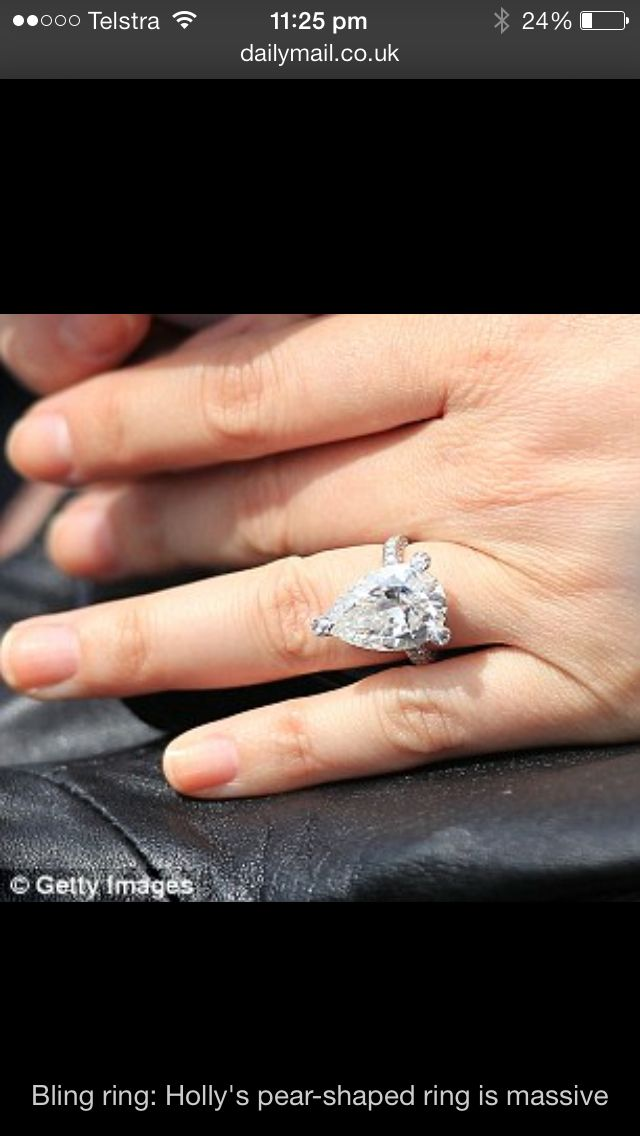 Holly Valance S 10 Carat Engagement Ring