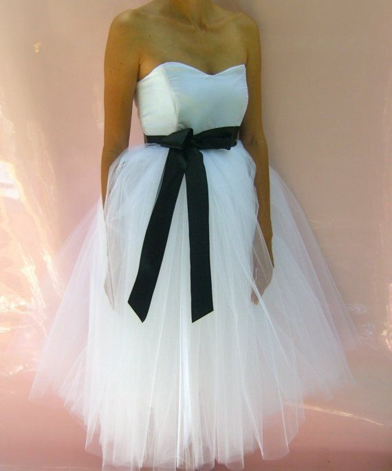 tutu wedding dress this is it. and the flower girl will have tutu ...