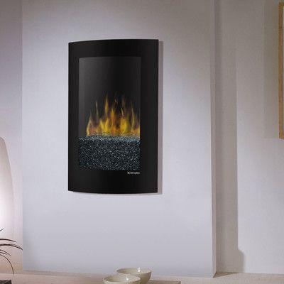 dimplex electraflame convex wall mount electric fireplace reviews rh pinterest com Dimplex Wall Mounted Fireplace Best Wall Mount Electric Fireplace