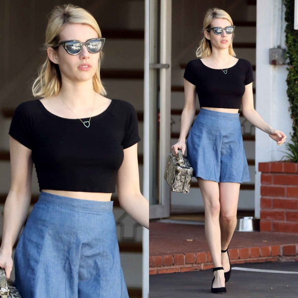You won't believe where Emma Roberts got her outfit from! Get all the details via @swavyapp