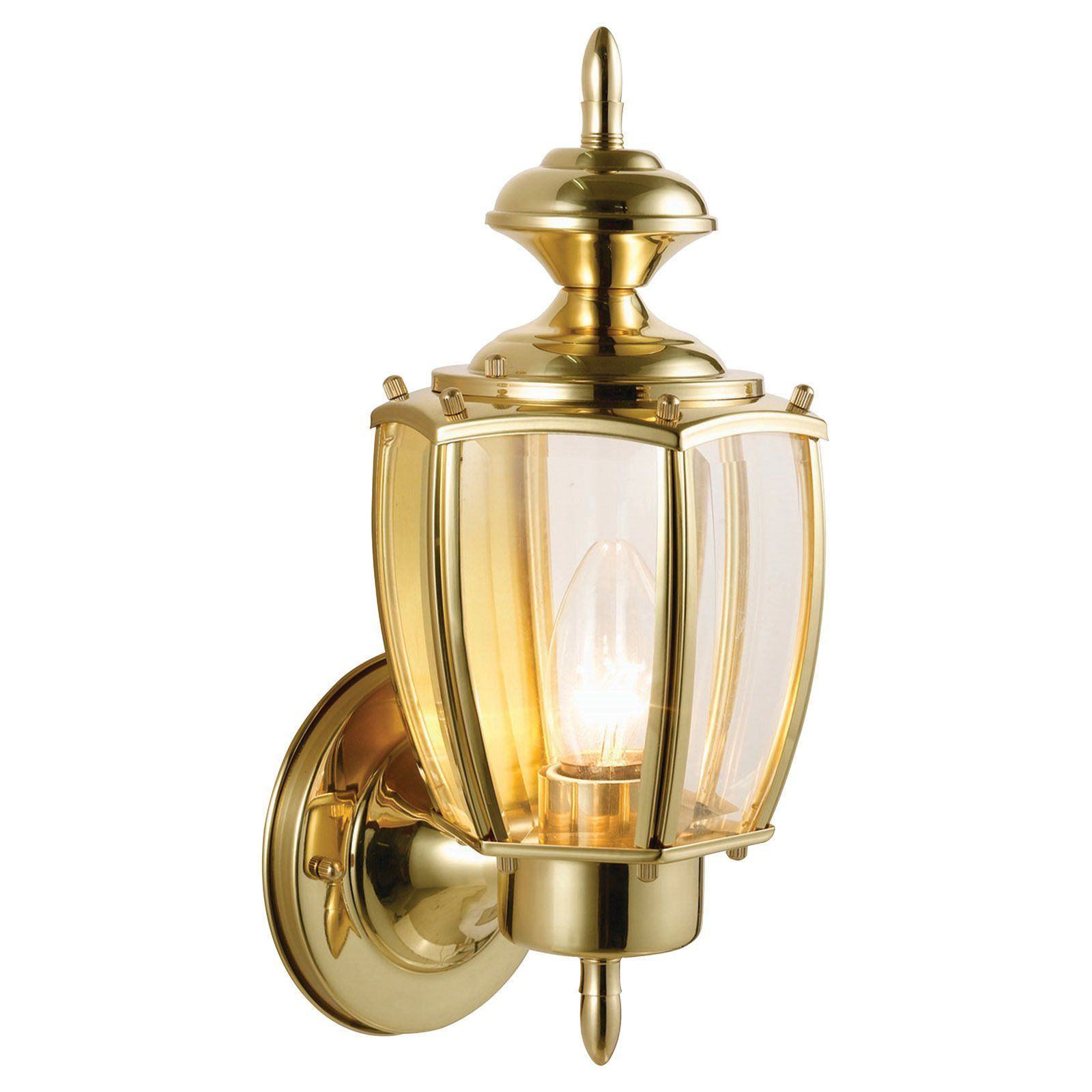 Design House Jackson Outdoor Uplight - Solid Brass - 501486 ...