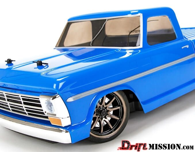 Vaterra RC 1968 Ford F100 Body DriftMission Your Home for RC