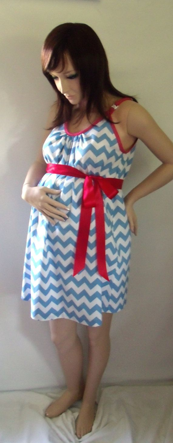 Blue chevron maternity hospital gown delivery by milkthreads baby blue chevron maternity hospital gown delivery by milkthreads ombrellifo Choice Image