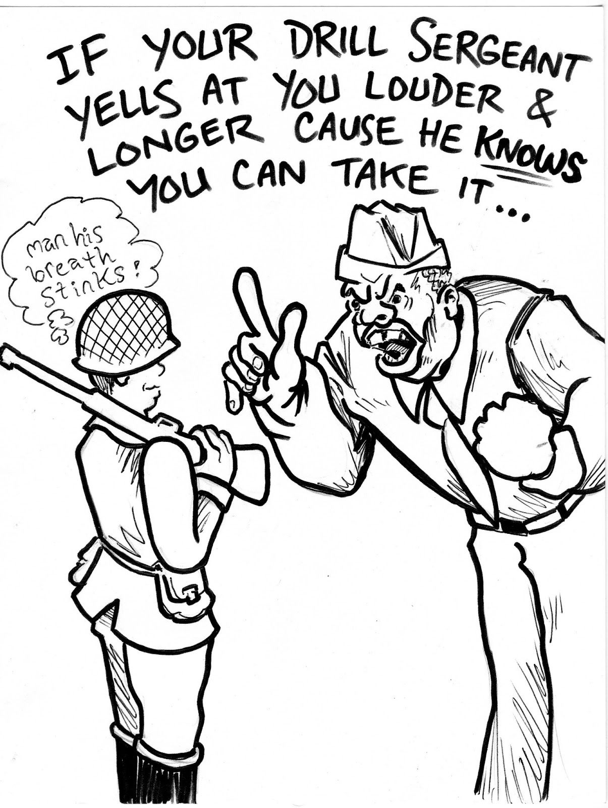 Marine Boot Camp Cartoons Comix Cartoons For My Nephew The Marine When He Was In Boot Camp Military Quotes Boot Camp Quotes Motivational Military Quotes