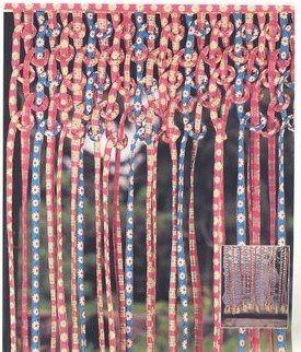 Cortinas de tiras de tela en pinterest cortinas shabby for Ganchos para cortinas de tela