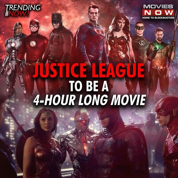 Movies Now Hd บน Instagram Zack Snyder Reveals Justice League Will No Longer Be A 4 Part Film But A One Shot Movie Justiceleague Justiceleaguemovie I 2021