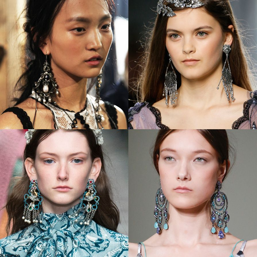 Statement Earrings Trend Choice Image - Jewelry Design Examples