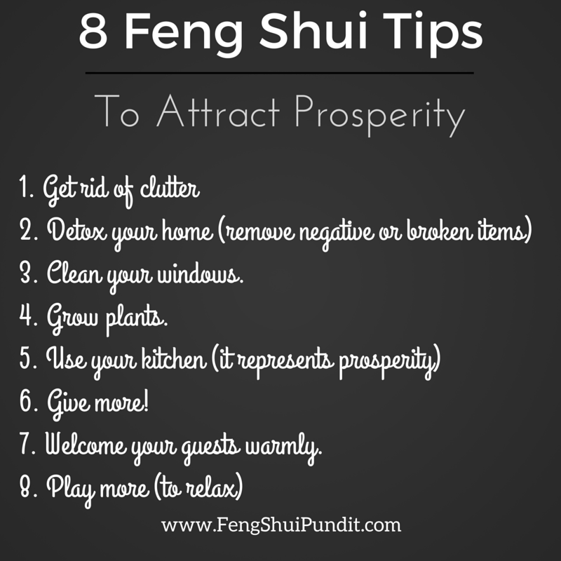 2 has me stymied how do you know if you have negative for Simple feng shui tips
