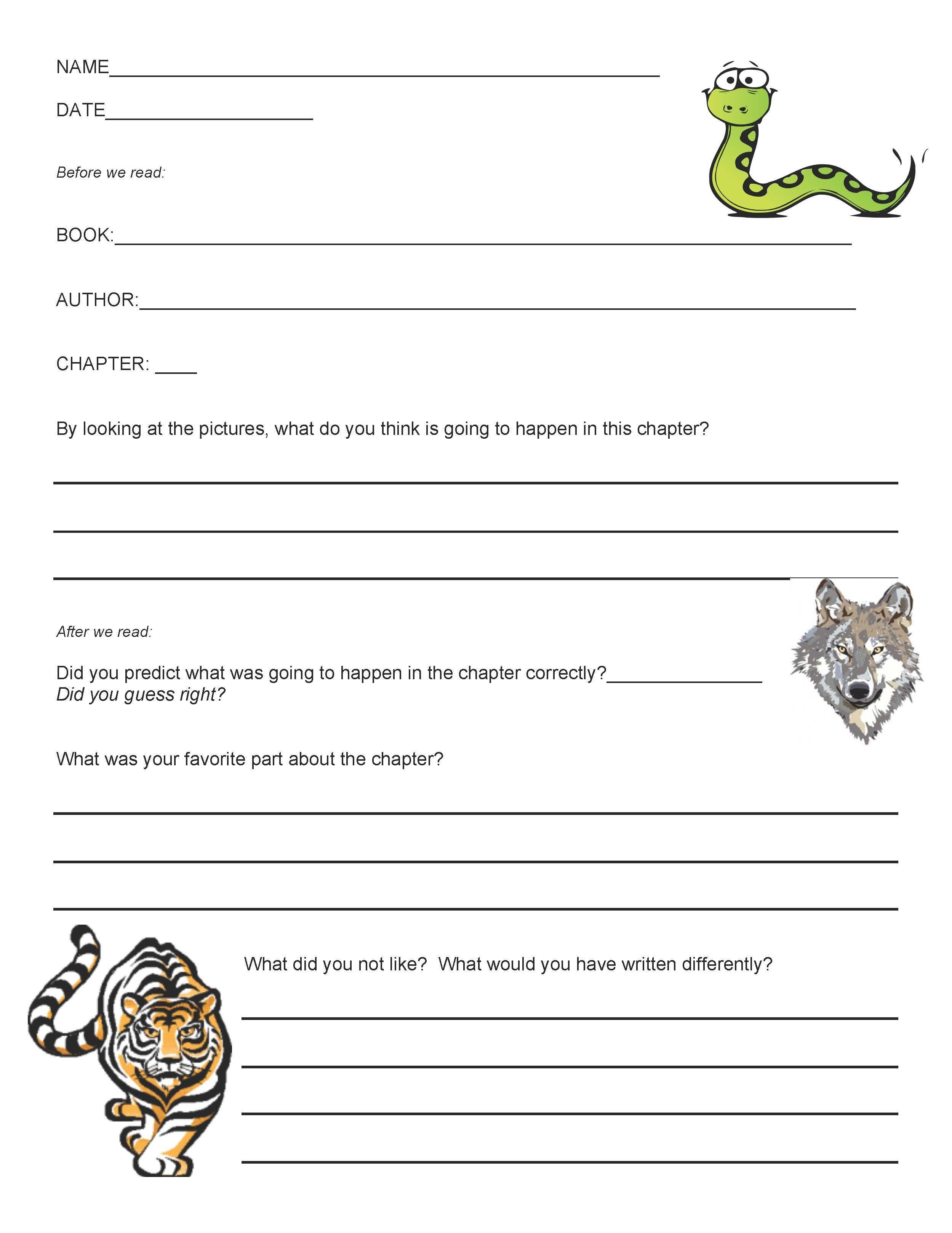 Reading Comprehension Worksheet After Struggles With