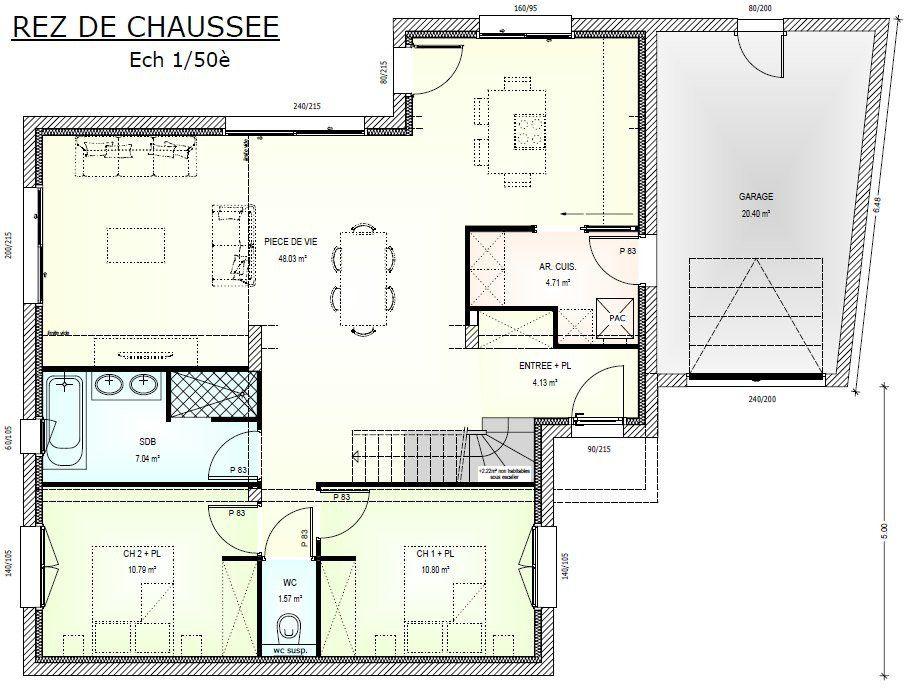 Plan Achat Maison Neuve À Construire - Maisons Bernard Jambert