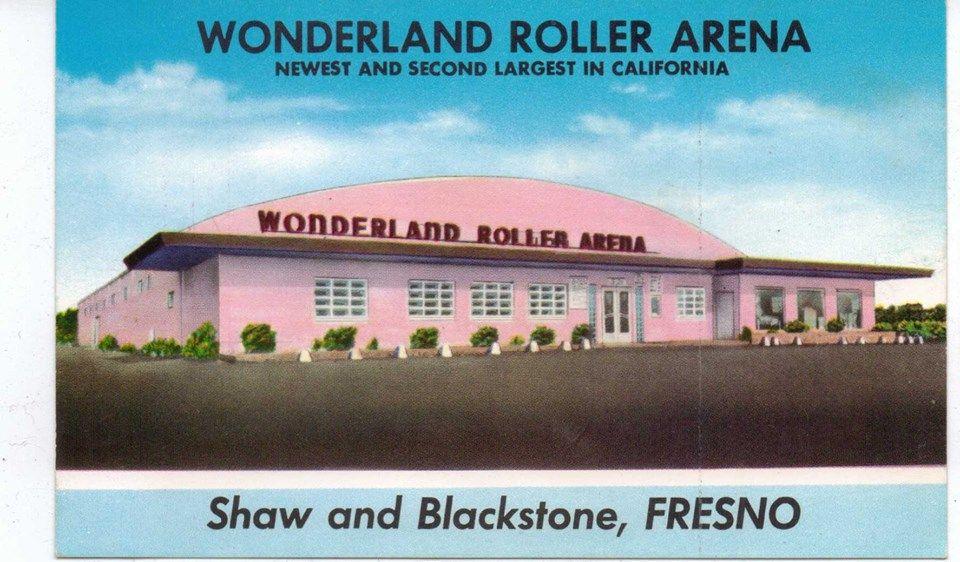 Wonderland skating rink fresno california fresno county