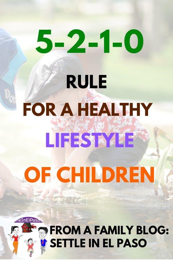 5-2-1-0: Faustregel für Eltern für einen gesunden Lebensstil von Kindern   – Parenting Tips and Advice
