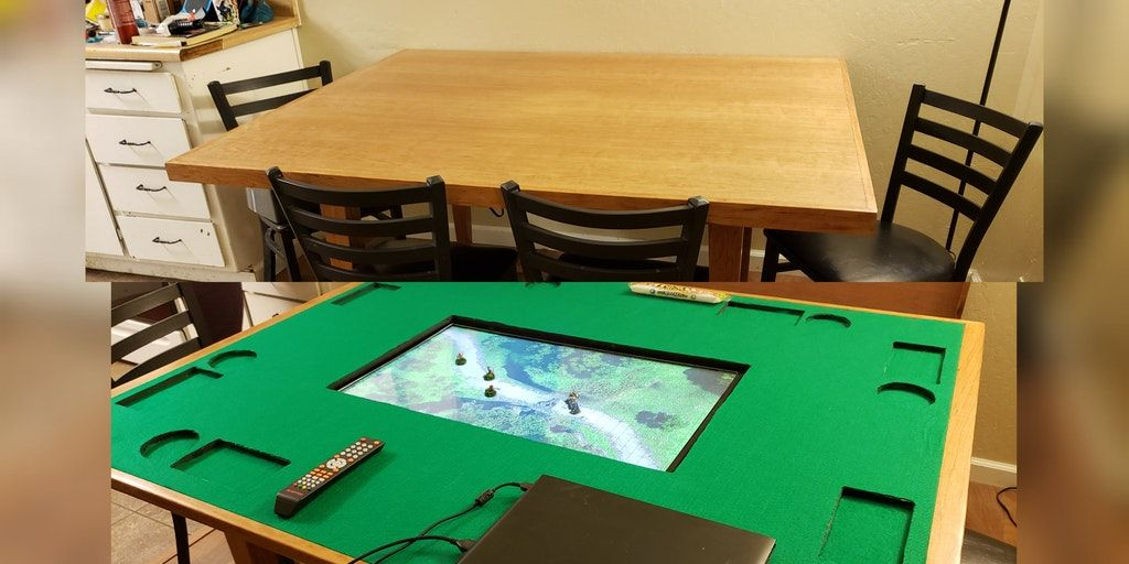 Oc Made My Own Convertible Dining Gaming Table Dndiy Table