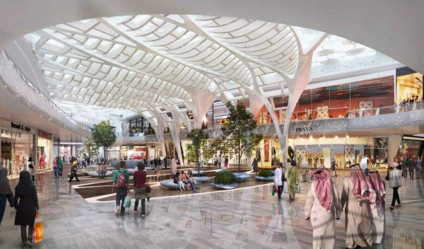 Avenues Mall Silicon Oasis Interiors Mall Architecture