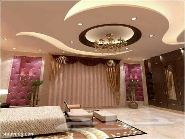 اجمل ديكورات جبس بورد غرف نوم 2020 مودرن Bedroom False Ceiling Design False Ceiling Living Room False Ceiling Bedroom