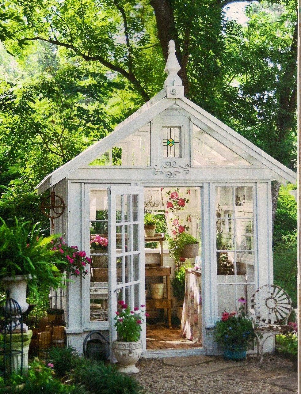 Pin von Dita Erickson auf Potting shed/greenhouse/sanctuary ...