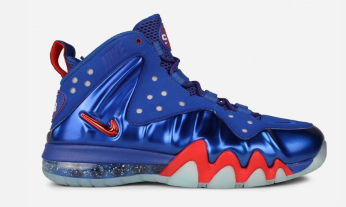 Charles Barkley may no longer be in Philly, but his Nike Barkley Posite  (Sixers