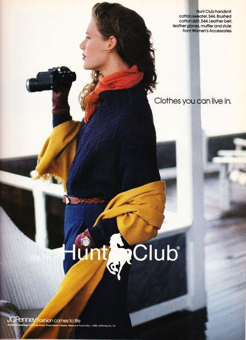 Hunt Club JCPenney ad Victoria.
