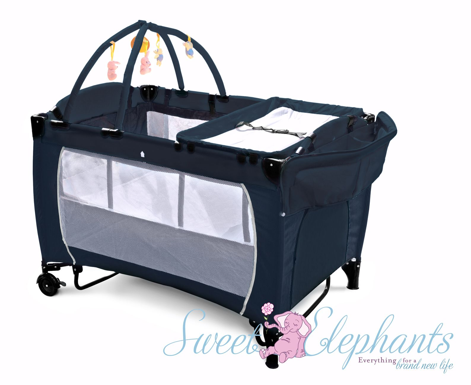 Portable Cot The Ultimate Travel Cot For Baby Sweet Elephants Portable Changing Table Bassinet Portable Bassinet
