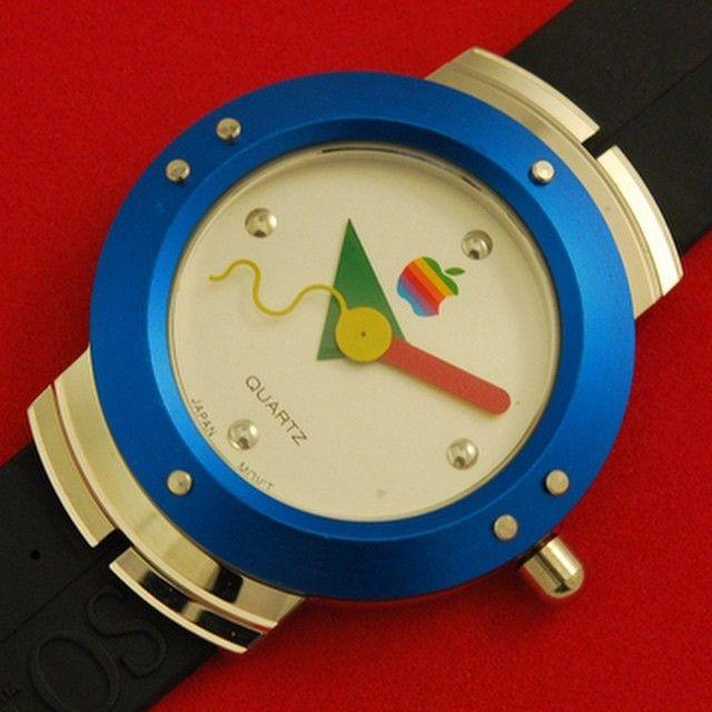 22. Apple watch (1980s) Memphis design, Memphis milano