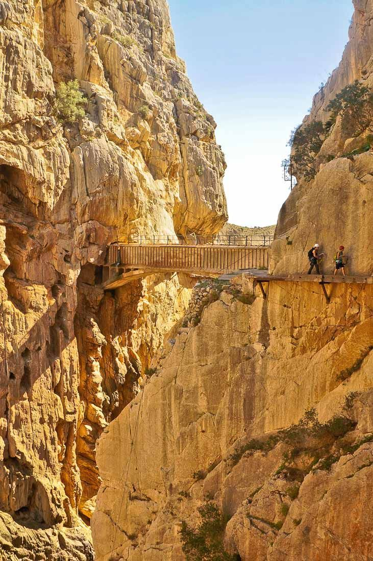Hiking El Caminito del Rey in Spain