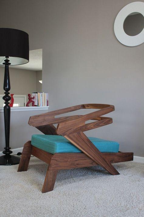 Beau Custom Made Gibson Lounge Chair