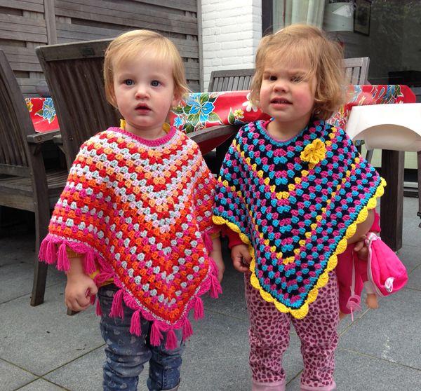 patrones de ponchos para bebe a crochet - Buscar con Google ...