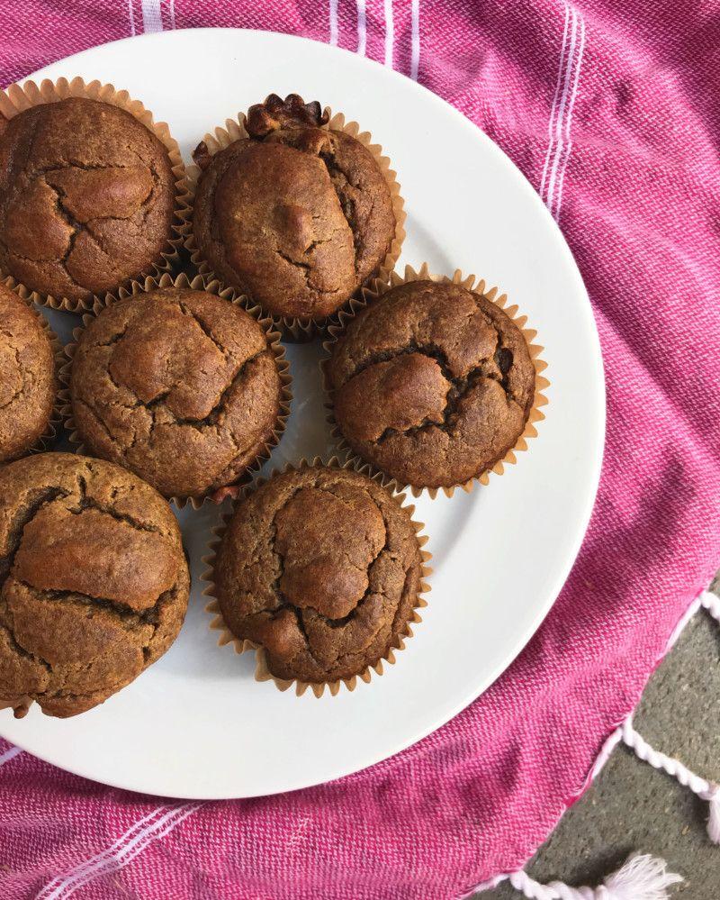 Evies birthday smash cupcakes grain free and date