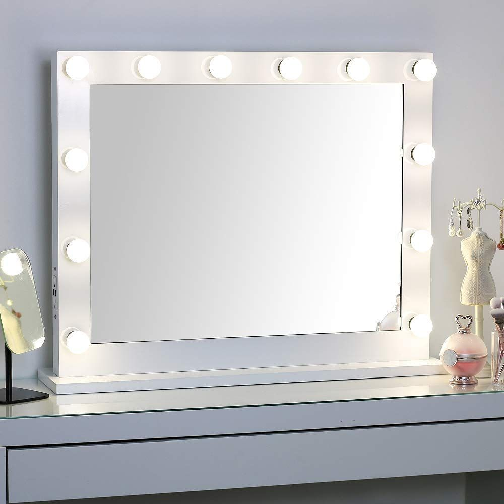 Large Hollywood Vanity Mirror With Lights Lighted Standing Or Wall Makeup Mirror Side Mounted Vanity Mirror Mirror With Lights Hollywood Lighted Vanity Mirror