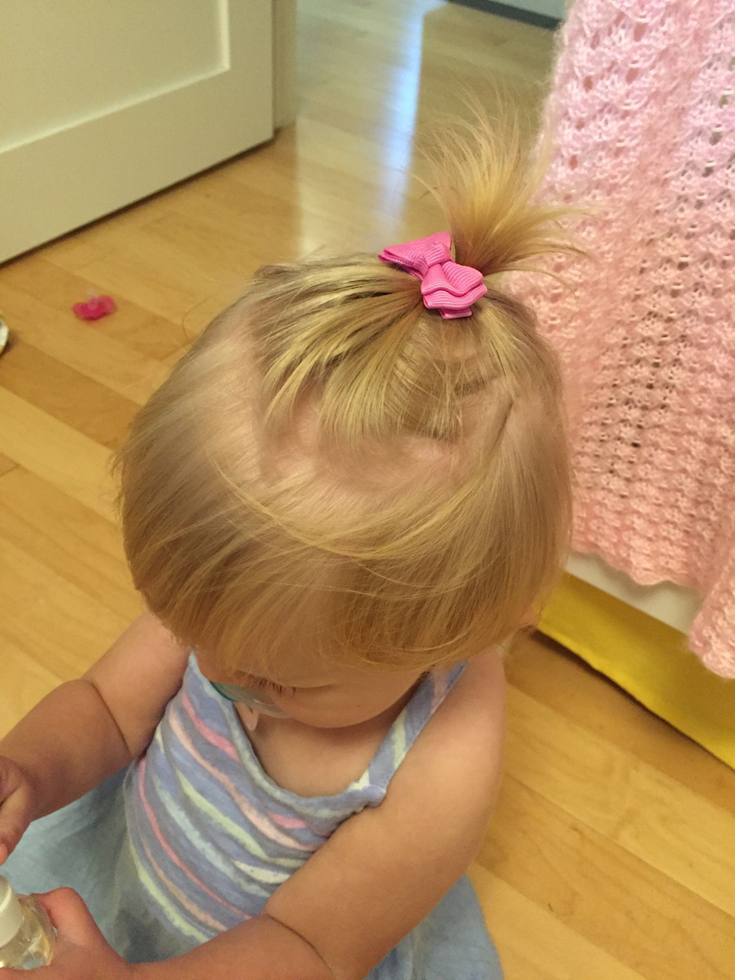 5 Easy Hairstyles For Little Girls Who Don T Have A Lot Of Hair Toddler Hairstyles Girl Fine Hair Toddler Girl Haircut Toddler Hairstyles Girl