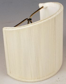 P String Half Shade With Soft Lining Off White Cream Taupe Black 4 X4 5 Sconce Lamp Shades And Chandelier