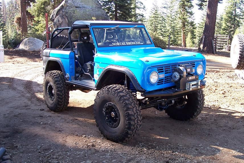 Full Width Eb Classic Bronco Early Bronco Bronco