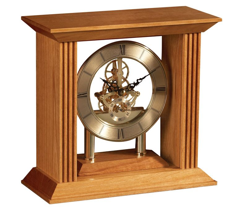 Chandler Skeleton Clock Kit   Theme - Gears   Skeleton clock, Wooden