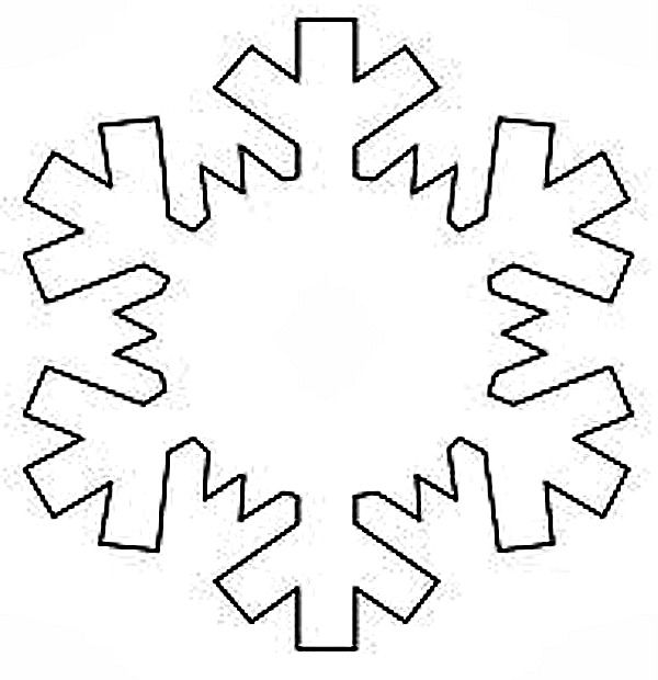 Printable Snowflake Templates To Get You Through Any Snow Day