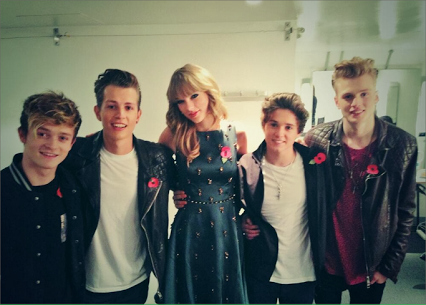the vamps wiyh taylor swift