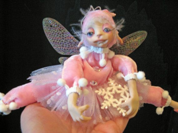 A sugarplum faere ornament. $124.00, via Etsy.