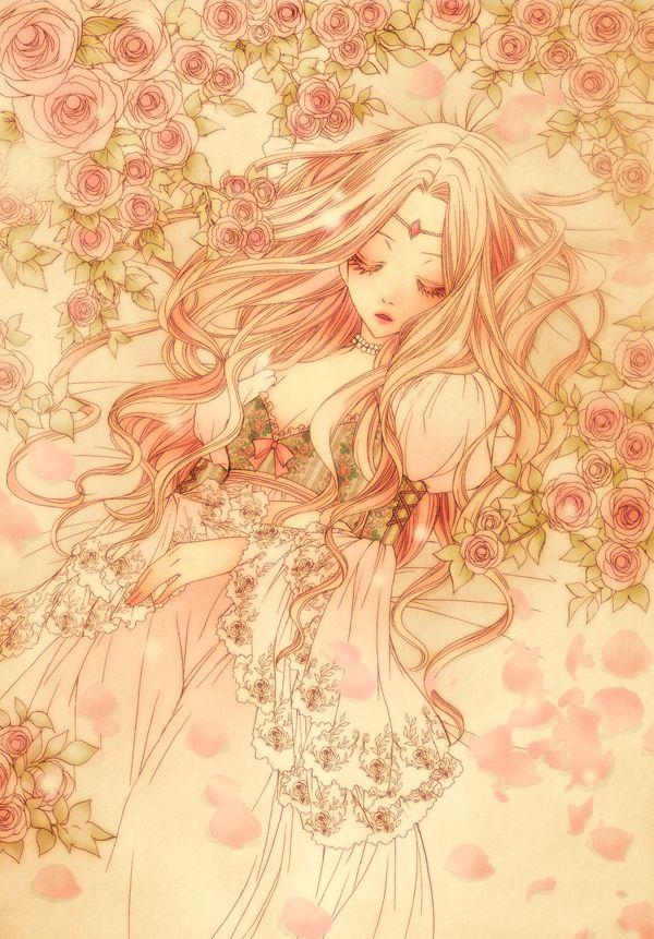 Tags Anime, Pixiv, Sleeping Beauty, Sleeping Beauty