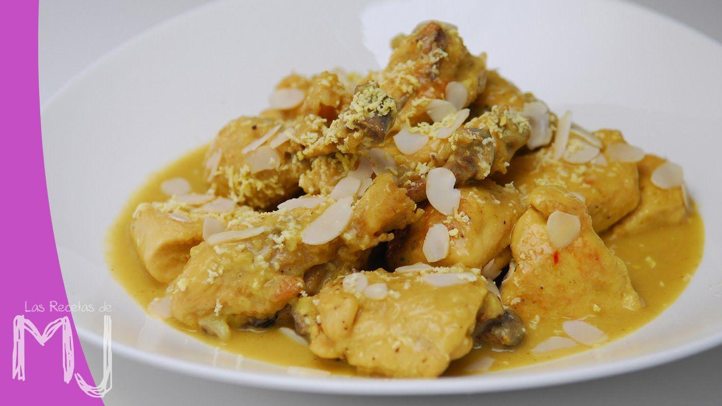 Pollo En Pepitoria Las Recetas De Mj Pollo En Pepitoria Pollo Recetas Tradicionales