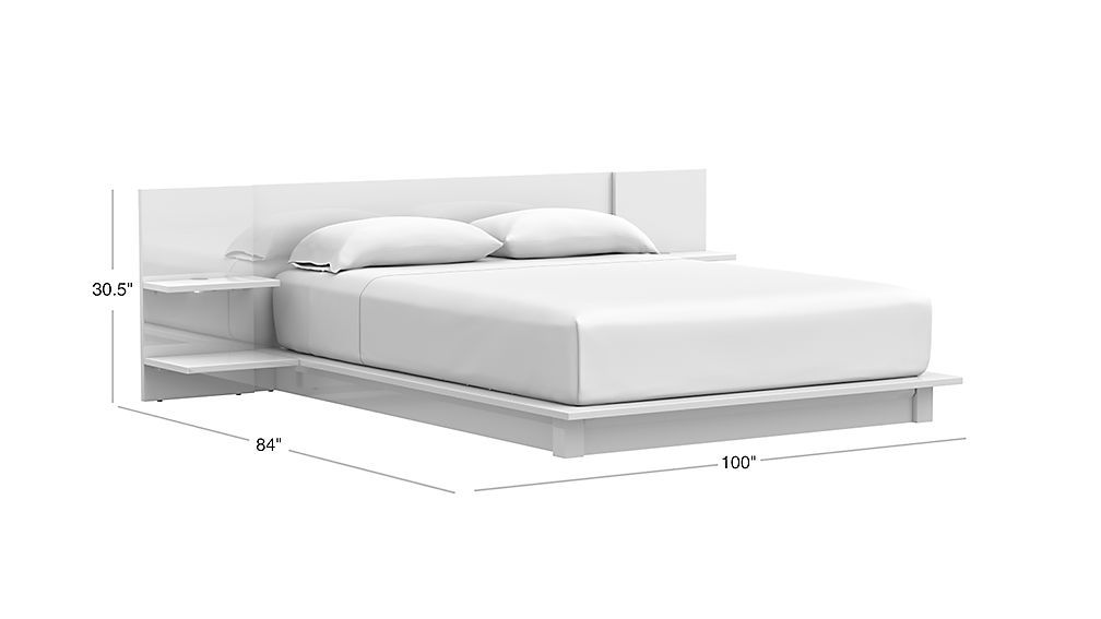 Andes White Storage Bed Bed Furniture Design White Queen Bed Bed